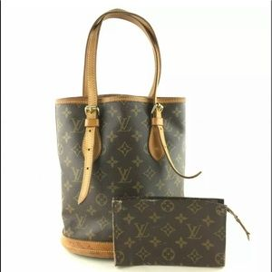 Louis Vuitton Bucket Petite Monogram